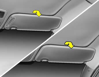Sun Visor Hood Release Features Of Your Hyundai