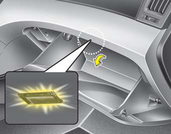 Glove Box Lamp Interior Light Features Of Your Vehicle